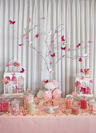 white pink lolly bar butterfly theme wollongong party