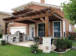 patio structures ideas wood patio cover ideas backyard covered