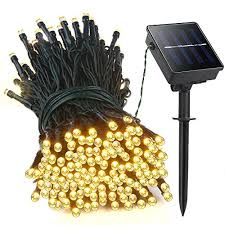 lellel 2nd solar string lights 200 led waterproof patio