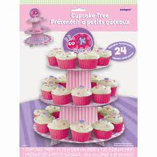 ladybug first birthday ladybug first birthday cupcake stand package