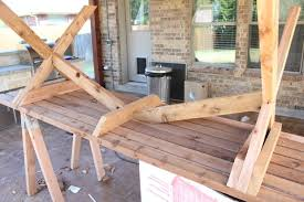 Picnic Table Plans Free Separate Benches by Sleek Picnic Table With Detached Benches 6 Steps With Pictures
