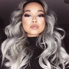 trendy gray hair styles trendy grey hair color ideas for sizzling girls hairzstyle com