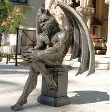 design toscano socrates the gargoyle thinker statue reviews
