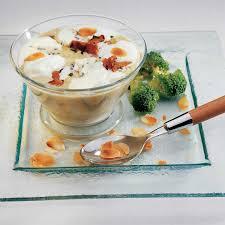 cuisine brocolis recette velouté de brocolis cappuccino cuisine madame figaro