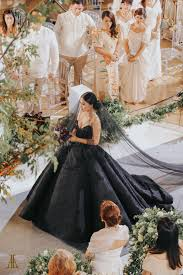 black wedding dress maja salvador wore black wedding dress
