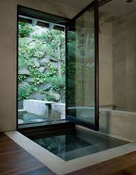 outdoor bathrooms ideas 15 creative bathrooms with outdoor space home design and interior