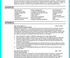 Sample Resume For Construction Superintendent by Construction Superintendent Resume Resume Cv Cover Letter