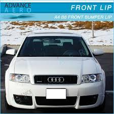 audi b6 kit for 02 03 04 audi a4 b6 v style front bumper lip spoiler kit