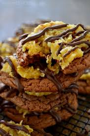 german chocolate cake cookies the domestic rebel