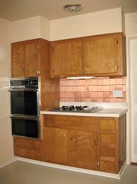 Kitchen Cabinet Wood Stains Should Nancy Paint Vintage Wood Cabinets Retro Renovation