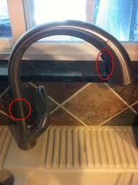 leaky delta kitchen faucet brilliant delta kitchen faucet leaking for interior design ideas