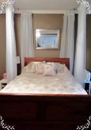 diy canopy bed frame 1853
