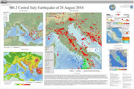 Us Geological Earthquake Map M 6 2 10km Se Of Norcia Italy
