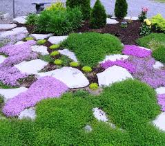 Rock Borders For Gardens Using And Rock In The Garden Inspirational Ideas