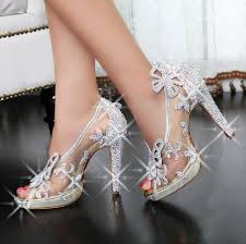 where to buy wedding shoes limited cinderella glass slipper sandals wedding shoes