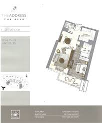 floor plans by address the address boulevard downtown dubai emaar floor plan 7 dubai
