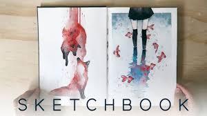 2017 watercolor sketchbook youtube