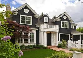 House Paint Schemes by Moving Three Level House Design With Fantastic Exterior Color