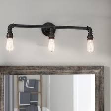 Industrial Vanity Light Industrial Vanity Lights You U0027ll Love Wayfair Ca