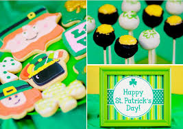 kara u0027s party ideas st patrick u0027s day shamrock rainbow boy