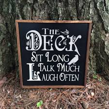 Outdoor Patio Gift Ideas by 15 Best Relaxing On The Porch Deck And Patio Signs From A