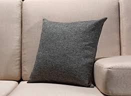 burlap linen throw pillow case cushion cover home decorative