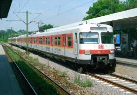 Bad Cannstatt Bahnhof 420 348 Als S 4240 Stuttgart Flughafen U2013schorndorf Am 19 07 1999