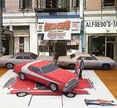 Ford Gran Torino Starsky And Hutch Papercraft Starsky U0027s Ford Gran Torino Coupe Papercar E Z U Build