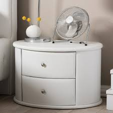 acme furniture eloy white and espresso nightstand 97342 the home