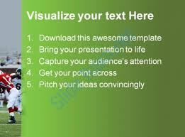football sports powerpoint templates and powerpoint