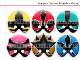 power rangers wrapping paper unique samurai printable masks party power birthday