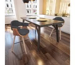 sedia sala da pranzo vidaxl 2 pz sedie sala da pranzo in legno curvato e tessuto
