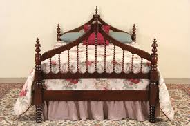 Bed Full Size Sold Victorian Gothic 1860 U0027s Antique Spindle Bed Full Size
