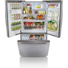 Stainless Steel Refrigerator French Door Bottom Freezer - kenmore elite 72053 31 0 cu ft french door bottom freezer