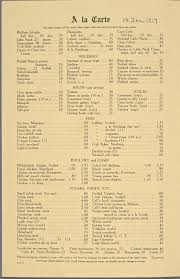 central halloween party astoria what nyc restaurant menus looked like 100 years ago vs today