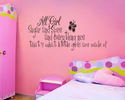 bedroom wall stickers for girls spice little girls room vinyl wall