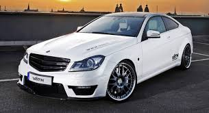 mercedes c class coupe tuning mercedes c class autoomagazine
