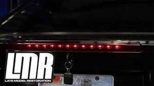 sn95 mustang tail lights mustang led third brake light installation 99 04 sn95 youtube