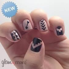 aztec nail vinyls various designs glam my mani
