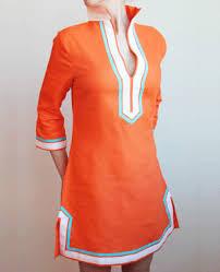 linen tunics for women guru tunic in orange linen previous in