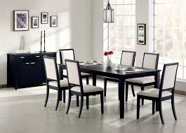 Black Dining Room Furniture Decorating Ideas White And Black Dining Table Color 4 Home Ideas