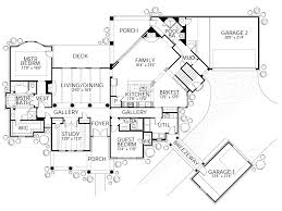 european style house plan 5 beds 5 00 baths 4465 sq ft plan 80 161