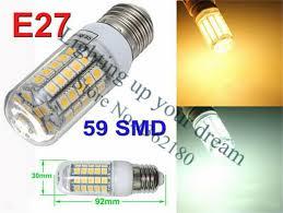 led light warm white e27 led bulbs 7w 9w 12w 15w 18w 3000 lumen