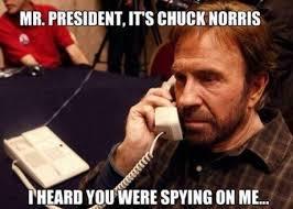 Chuck Norris Funny Meme - spying on me funny chuck norris joke