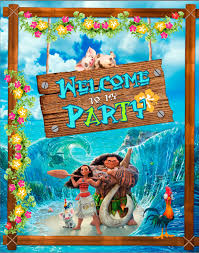 free moana party banner ava u0027s 2nd party