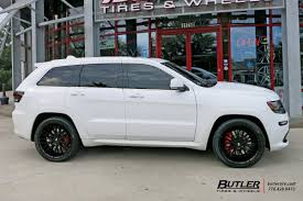 gray jeep grand cherokee with black rims jeep grand cherokee with 22in savini bm13 wheels exclusively from