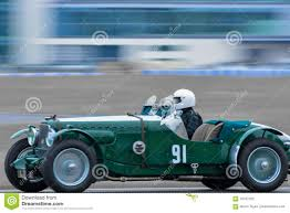 classic mercedes race cars racing driver vintage sports car editorial photography image