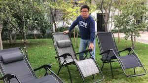 Indoor Zero Gravity Chair Oem Indoor Adjustable Leisure Garden Zero Gravity Chair Recliner