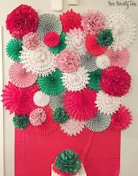 tissue paper fans diy tissue paper pom pom and fan backdrop