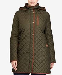 plus size light jacket lauren ralph lauren plus size lightweight quilted jacket stitch